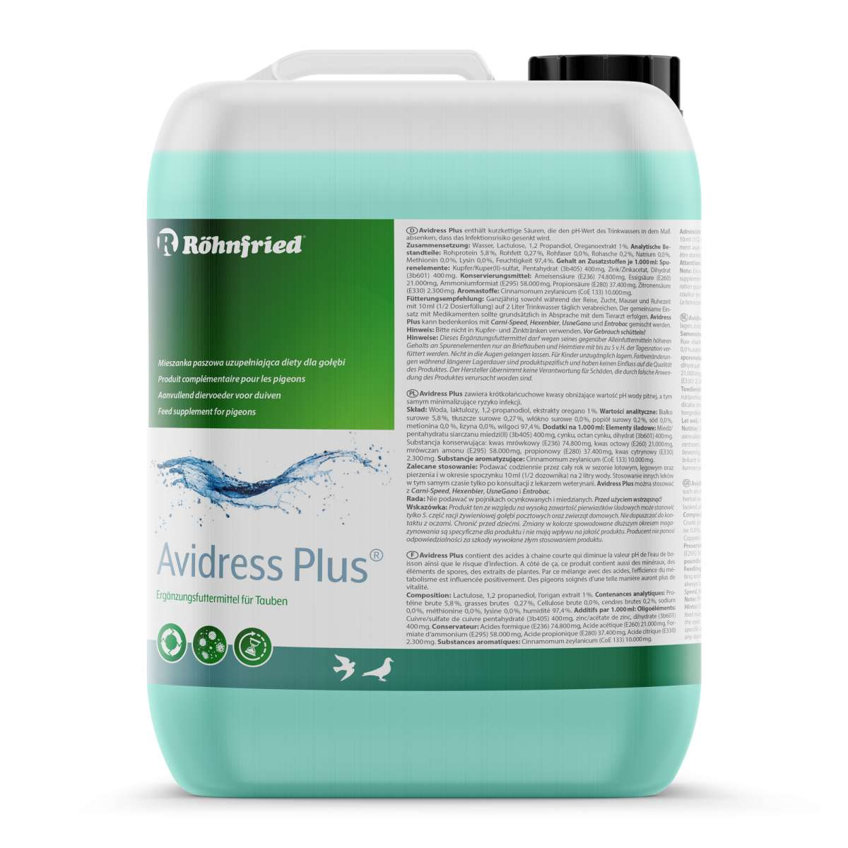 Röhnfried Avidress Plus 5000ml